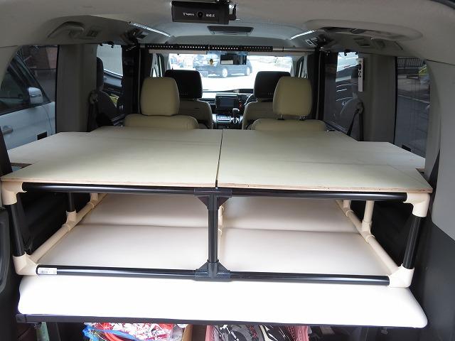 車中泊 2段ベッド