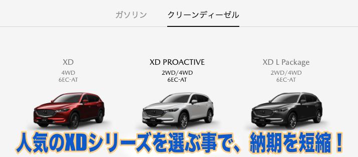 CX-8のXDシリーズ